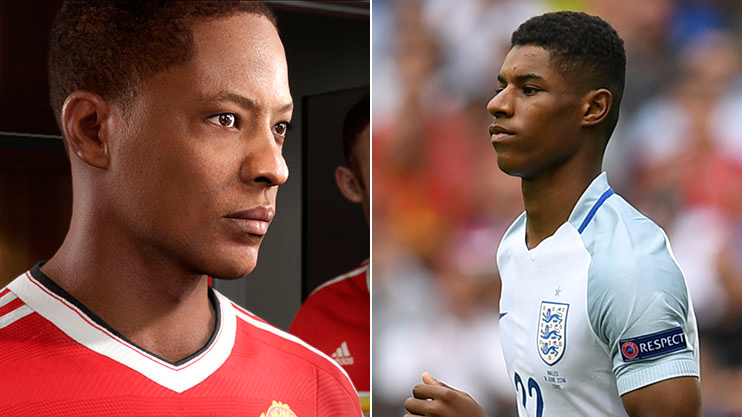 Marcus Rashford speaks about *those* similarities between him and FIFA 17's Alex  Hunter