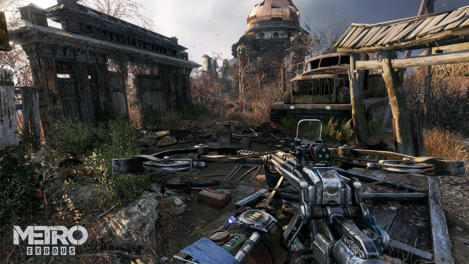Metro Exodus, out next year, will arguably look its best on the PC – if the previous games in the series are anything to go by