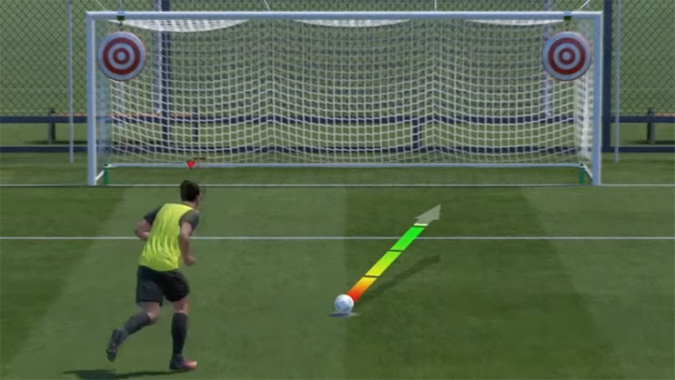 Penalties can be tough to master  but can be disposed to haphazard goalkeeper AI