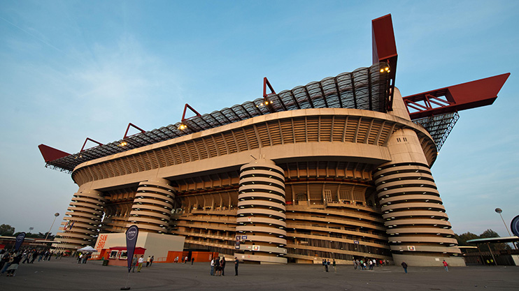 Thankfully, the real life San Siro does not suffer from the same issues