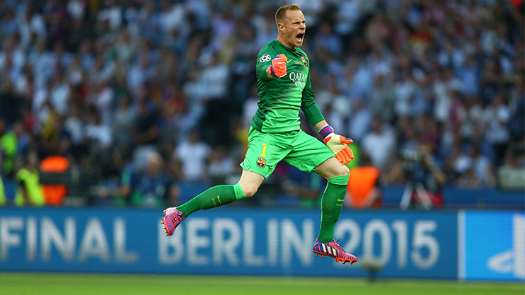 Ter Stegen has had a great season with Barca