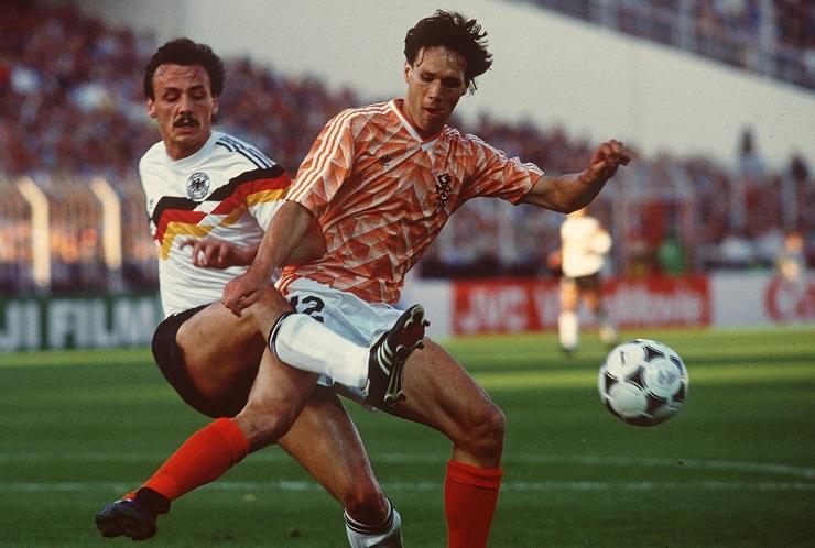 1988 European Championships England v Netherlands