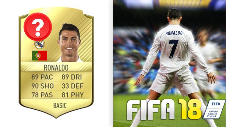 Ronaldo will likely be the best player in FIFA 18 - despite him getting slight downgrades in pace and dribbling