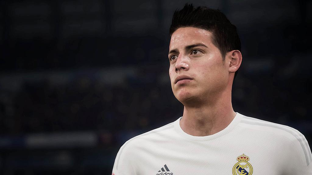 Player models looked impressive - but expect polygon count to be increased in FIFA 18