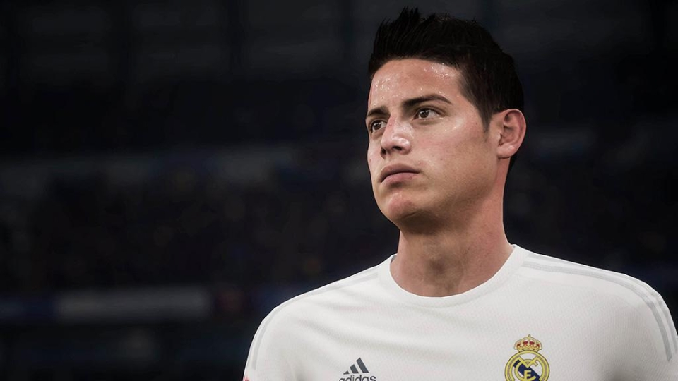 Player models looked impressive – but expect polygon count to be increased in FIFA 18