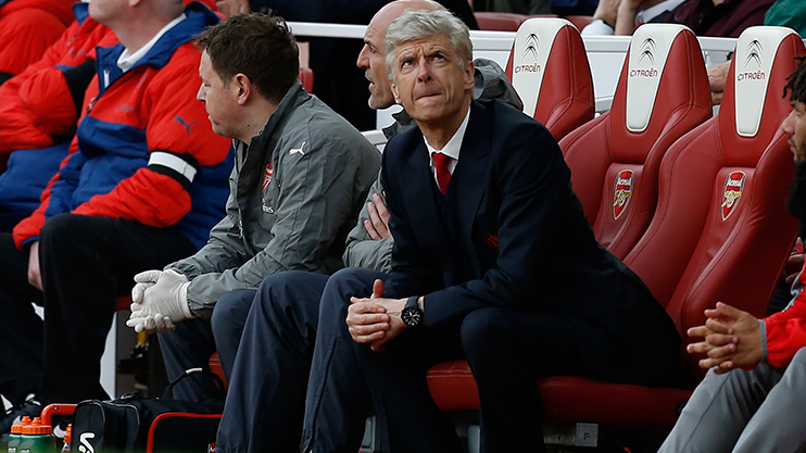 Arsene Wenger is under pressure at Arsenal this season