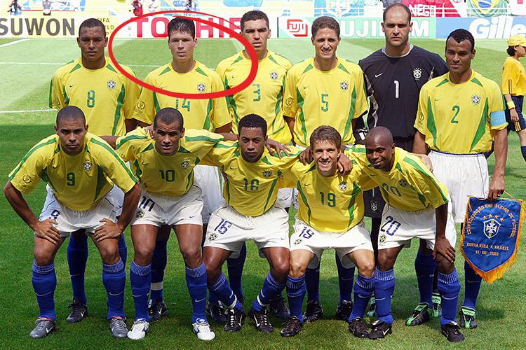 Polga played twice at the 2002 World Cup