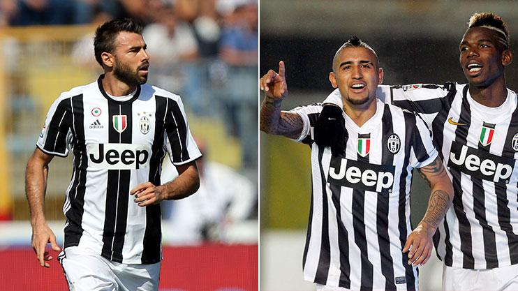 Barzagli last played with Arturo Vidal and Paul Pogba at Juventus during the 2015 Champions League final
