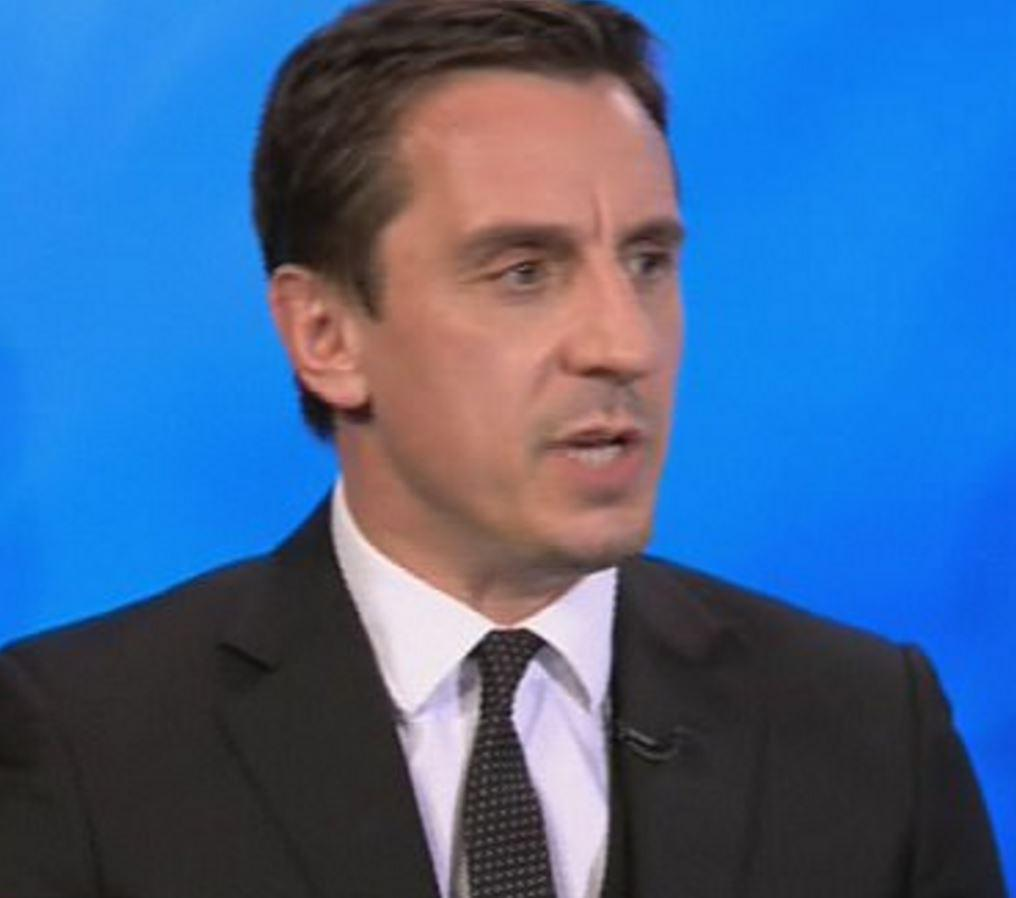Gary Neville believes Pep Guardiola may have to change his style to win the Premier League