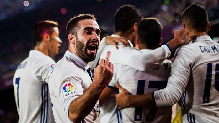 Carvajal swears at Barcelona fans back in December 2016