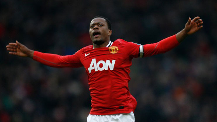 Evra was a hugely popular figure in Manchester