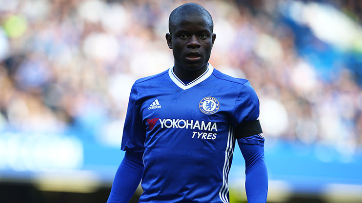 Kante won PFA Player of the Year on Sunday