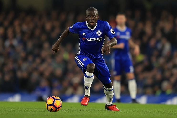 Kante has had a stunning season with Chelsea