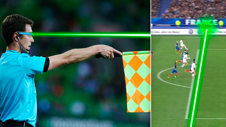 FA to trial 'laser glasses' for linesman to show offside