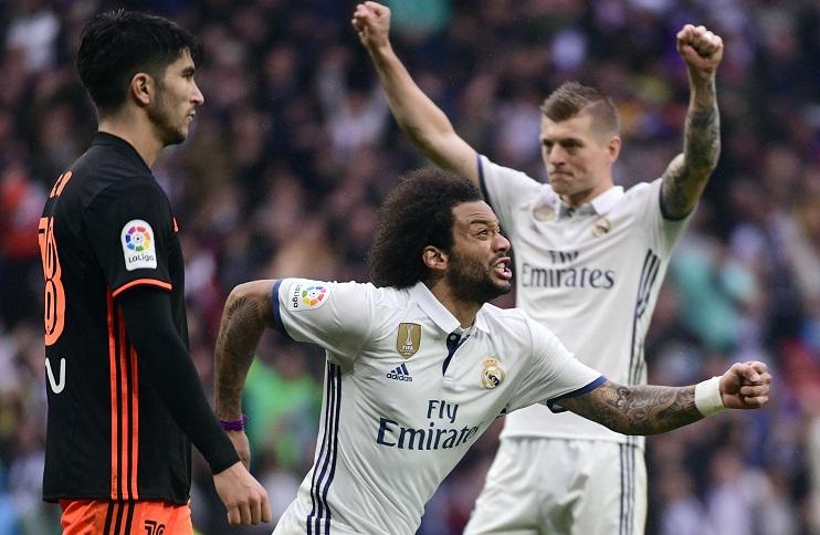 Marcelo's incredible form continues