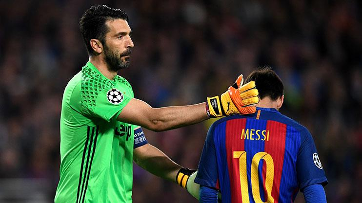 brand new 76f7b c22de Veteran goalkeeper Gianluigi Buffon pledged to QUIT football ...