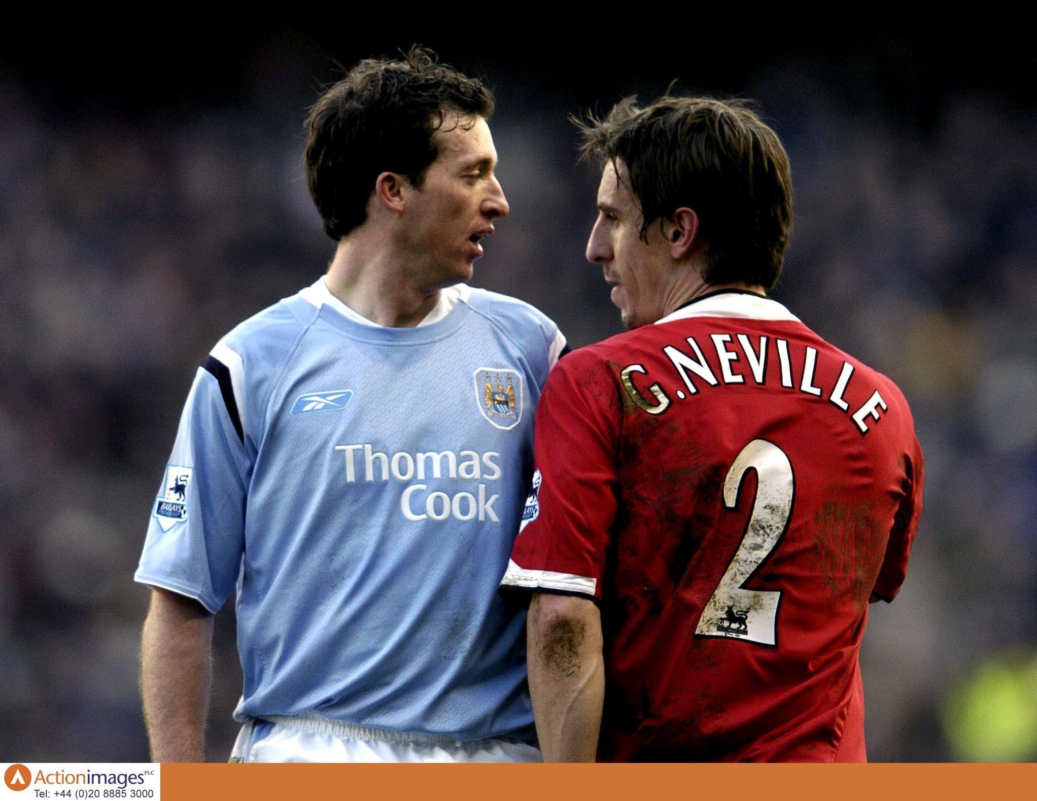 Fowler and Neville regularly didn't see eye to eye