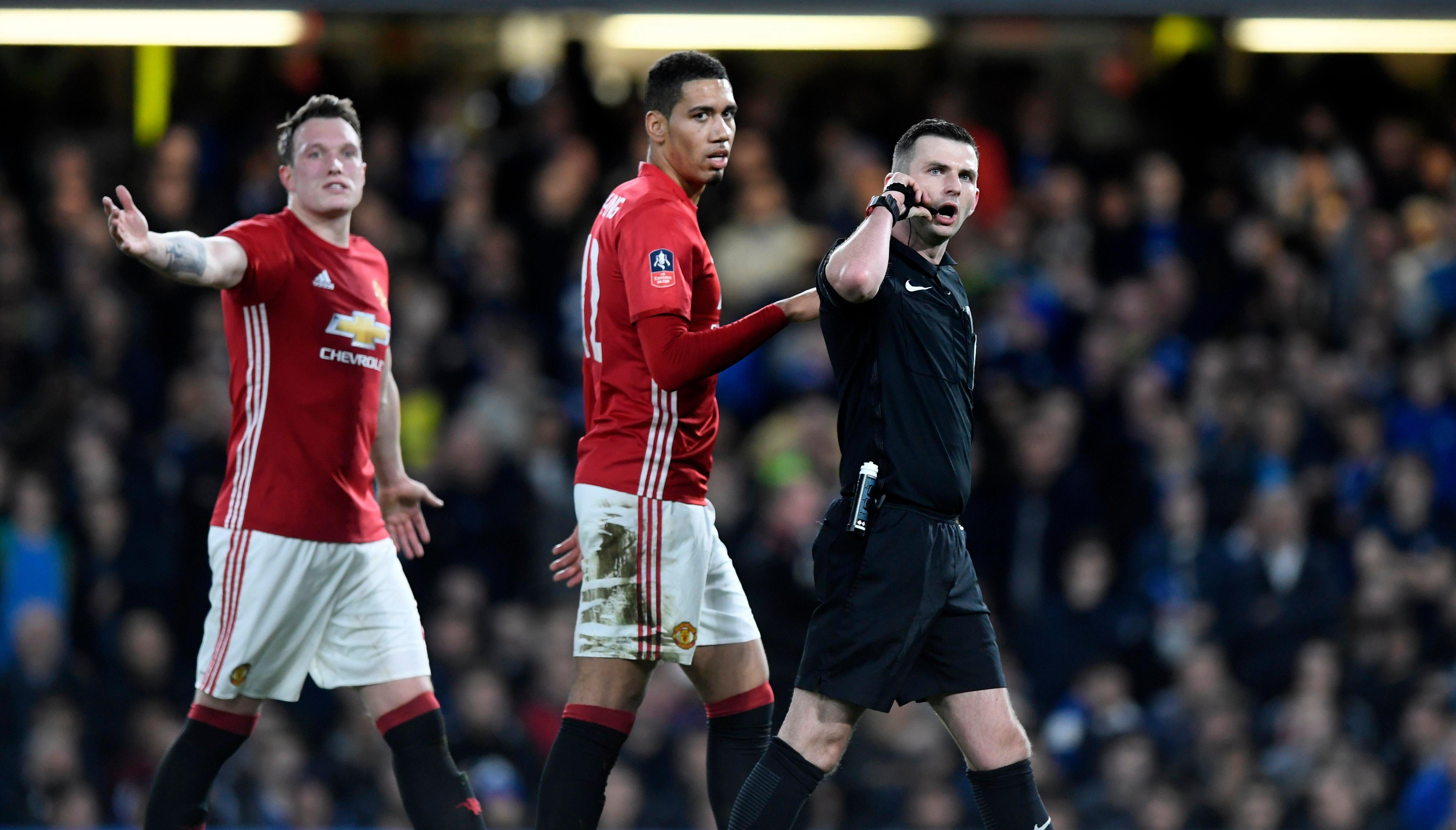 Chris Smalling and Phil Jones have both suffered with injuries this season