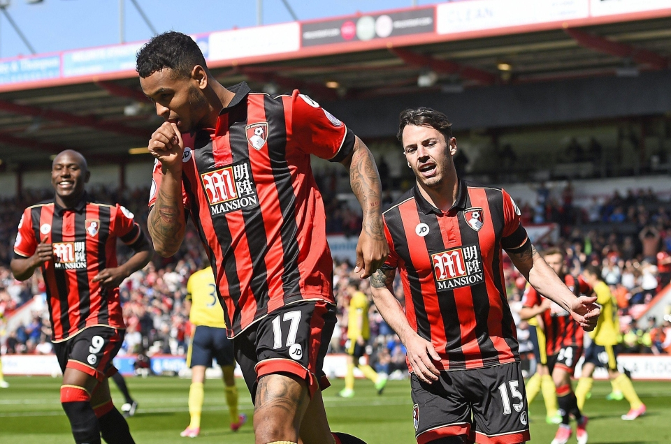 Joshua King fired Bournemouth into the lead after just 96 seconds against Boro