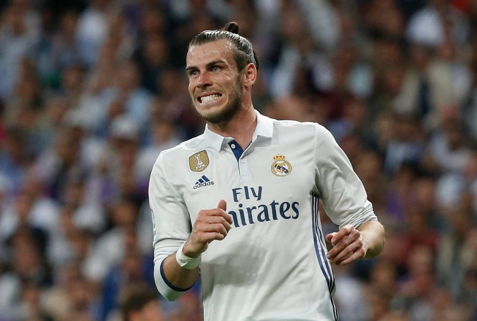 Bale has suffered a number of injury setbacks during his time at Real