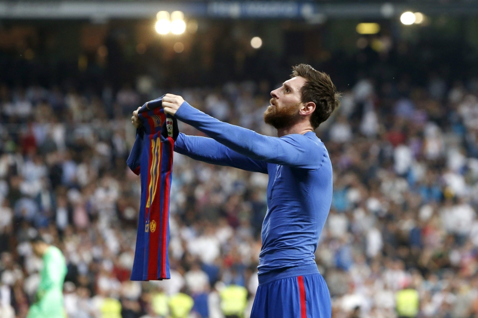 Messi first did the celebration back in April