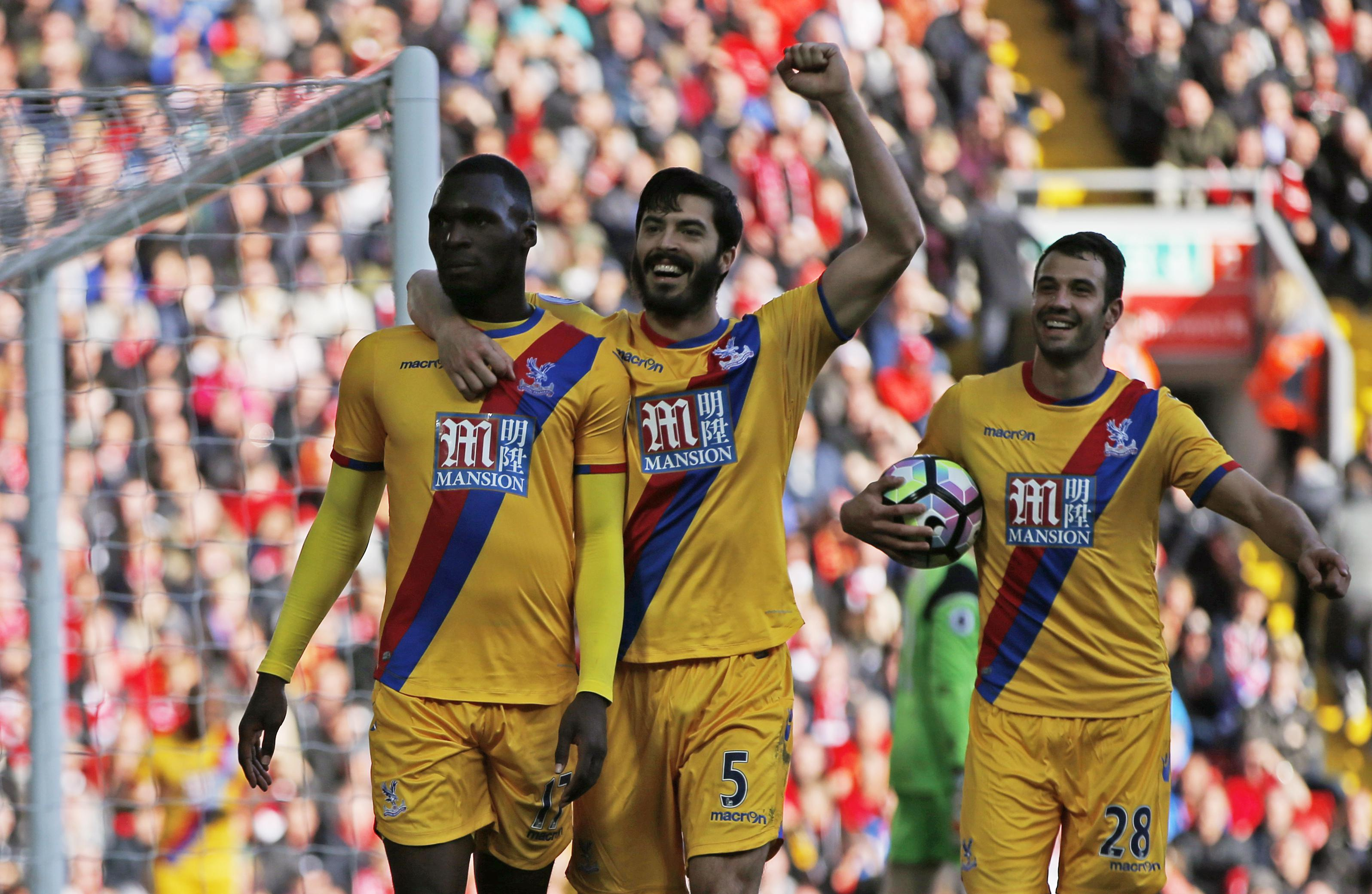 Benteke scored twice at Anfield last Sunday