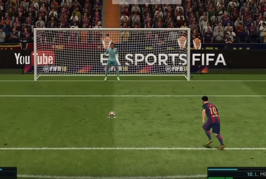 The tutorial demonstrates how to do in FIFA 17 – but it's easily replicated in this year's game