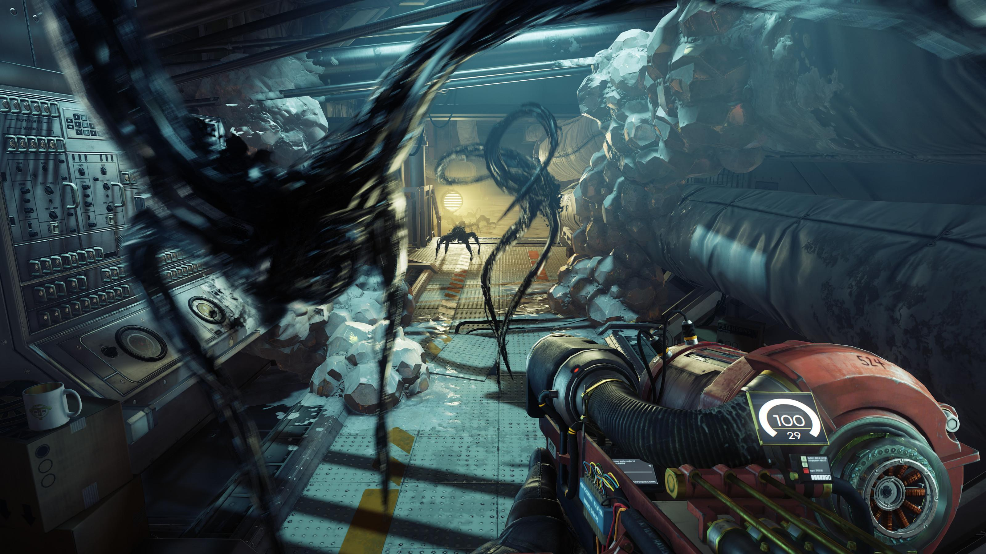 Prey's visuals are powered by CryEngine – the same powerhouse behind the gorgeous Crysis 2 and 3