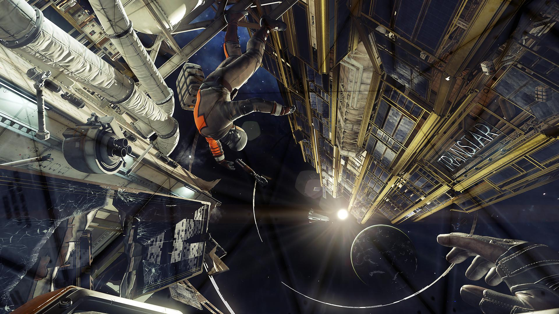 You'll be able to venture outside Talos 1 in a spacesuit – just be careful not to crash into any debris!