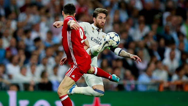 Image result for ramos vs bayern 2017
