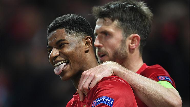 Rashford scored a decisive winner in the Europa League last week