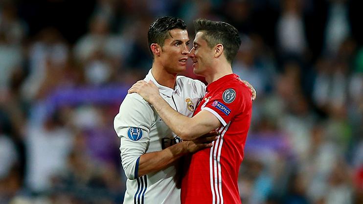 Ronaldo reportedly told Lewandowski to move to the Bernabeu