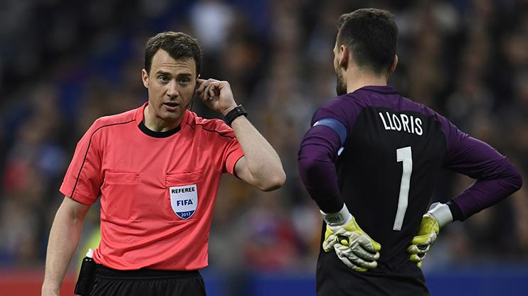VAR was used during Spain's win over France in March