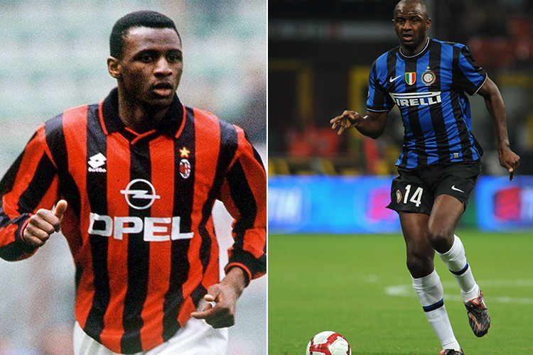 11 players who turned out for both AC Milan and Inter Milan
