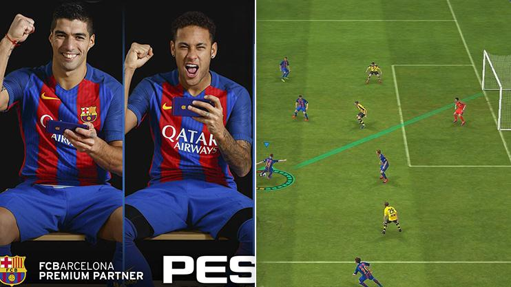 PES has now arrived on mobile and uses the same engine as the original console versions