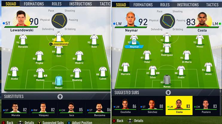 The YouTuber put both sides into FIFA 17 Career Mode then simmed the season to see how they got on