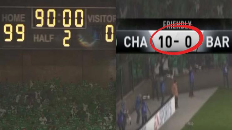 FIFA 17 clearly wasn't built to handle such an enormous scoreline