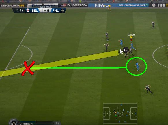 When mastered the lofted through pass can break down defences with ease