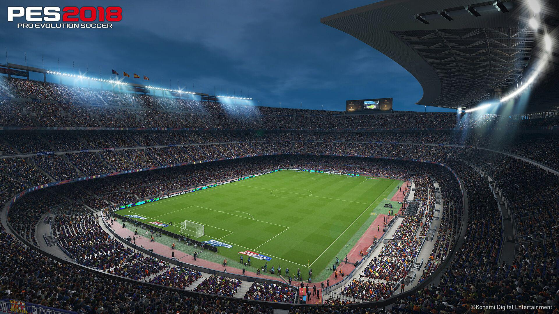 PES 2018 will have its work cut out as it launches just a few days before FIFA 18