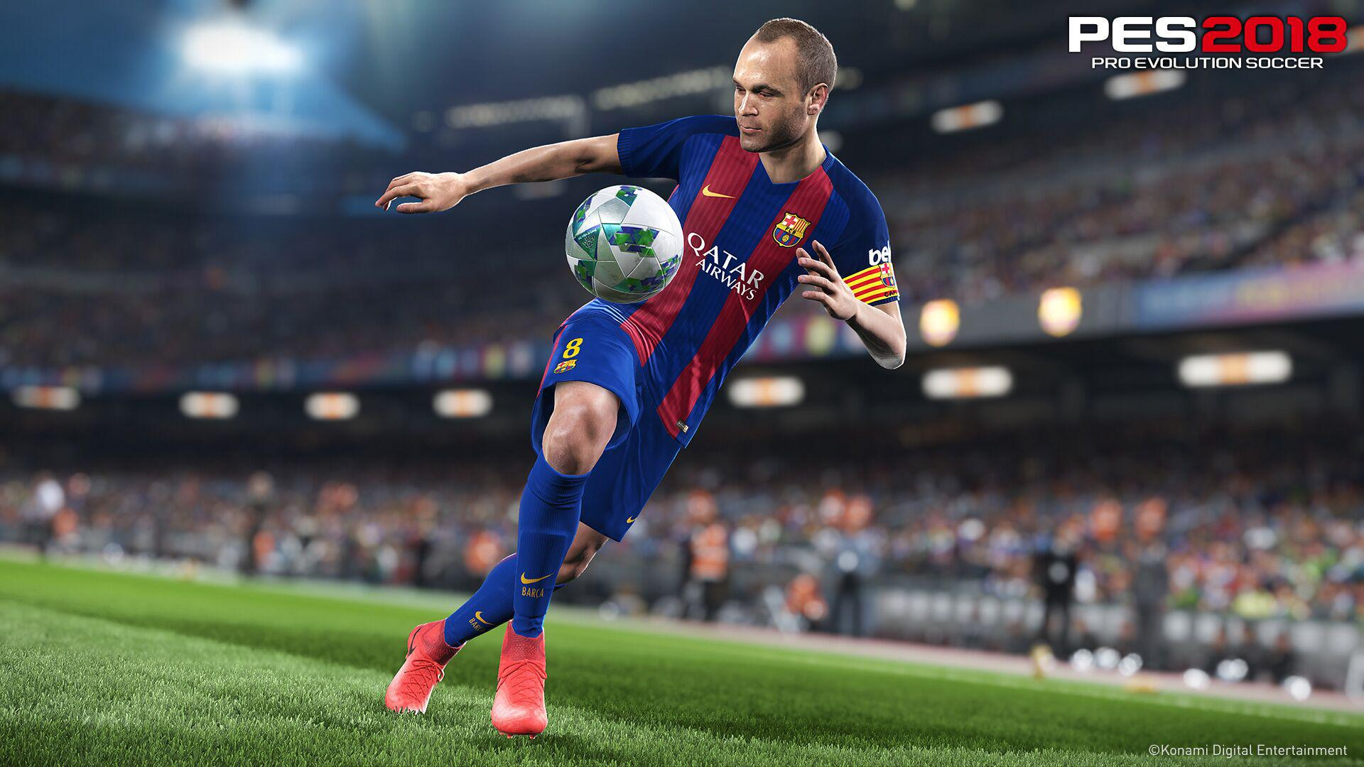 Fox Engine will once again power PES – but Konami has promised a host of visual improvements