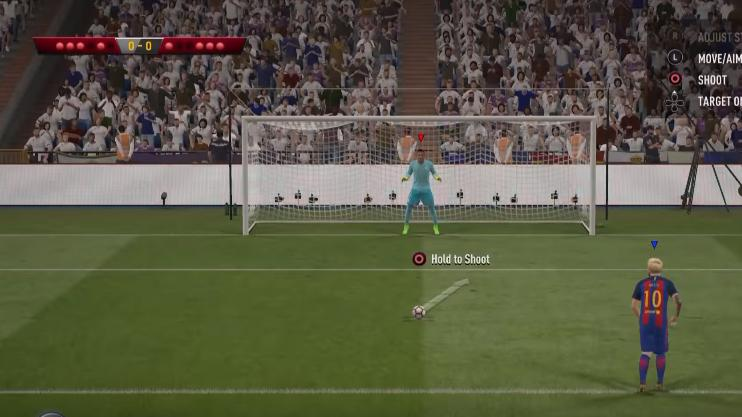 EA didn't factor penalties to go past a few kicks