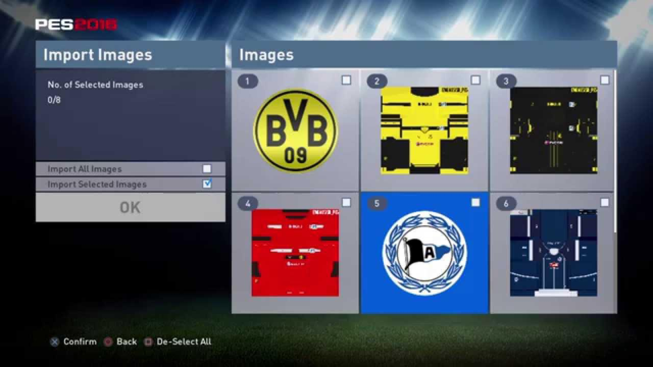 Being able to customise your own kits and badges would help – especially in FIFA 18's Career Mode