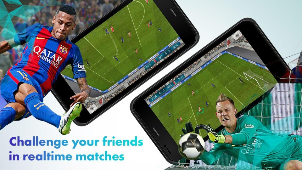 The game is free to download and lets you play with your mates