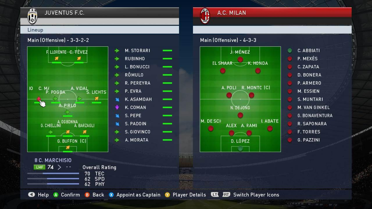 PES has always been known for offering an insane level of tactical depth – perhaps it's time FIFA did the same?