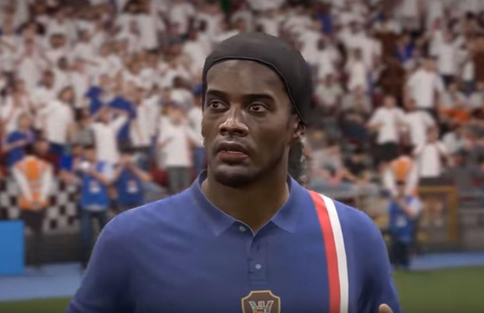 The modders painstakingly re-created the Brazilian – right the way down to his headband