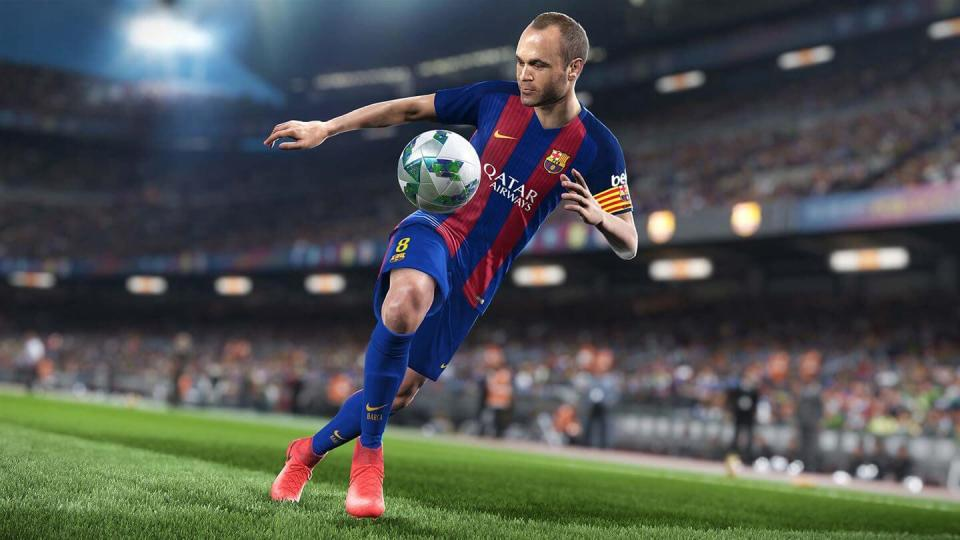 PES 2018 will make better use of the Fox Engine as it goes head to head with FIFA 18 next month