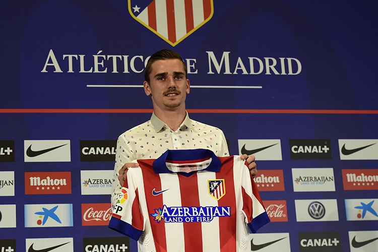 Griezmann cost Atletico around £25m when he joined from Real Sociedad