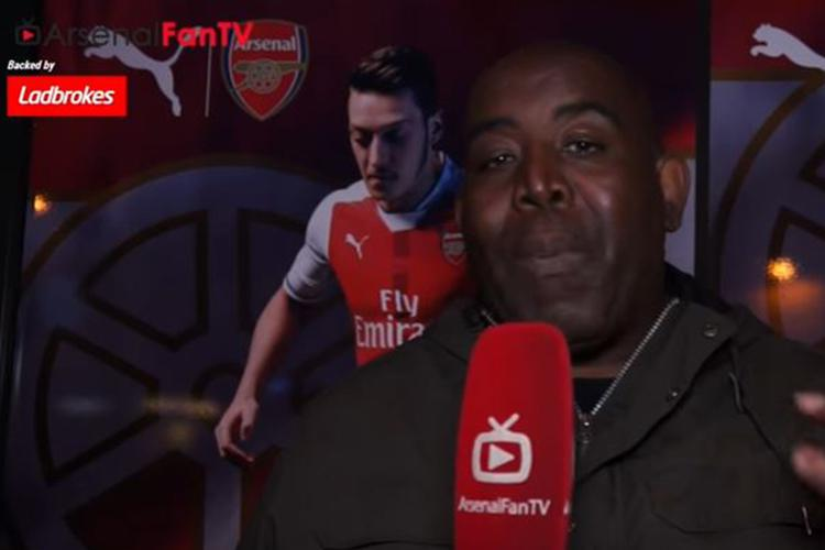 Robbie from Arsenal Fan TV wasn't happy with the security on offer
