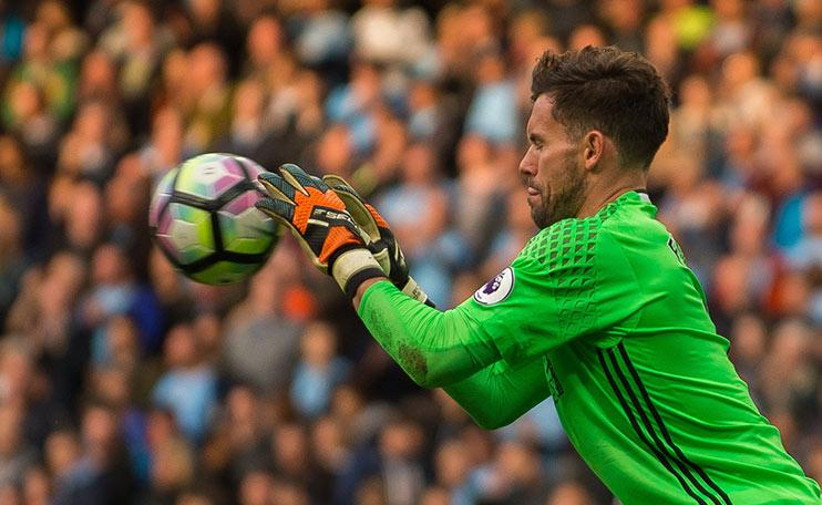 Ben Foster – so good he can save shots with his eyes closed.