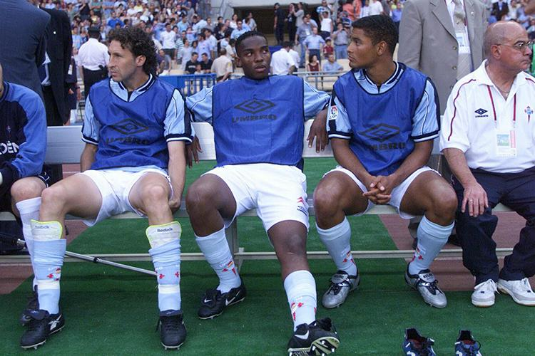 McCarthy got very used to warming the bench during his time at Celta